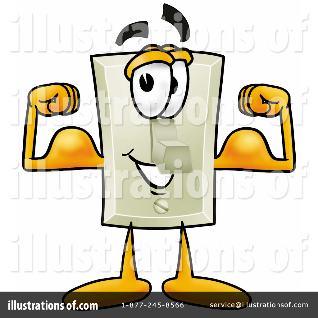 1024x1024 Light Switch Clipart