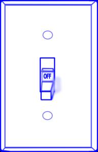 192x298 Light Switch Off Clip Art
