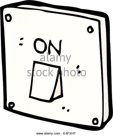 450x540 Cartoon Light Switch Stock Photos Amp Cartoon Light Switch Stock