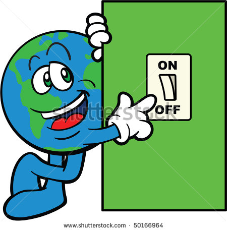 450x458 Light Switch Off Clipart