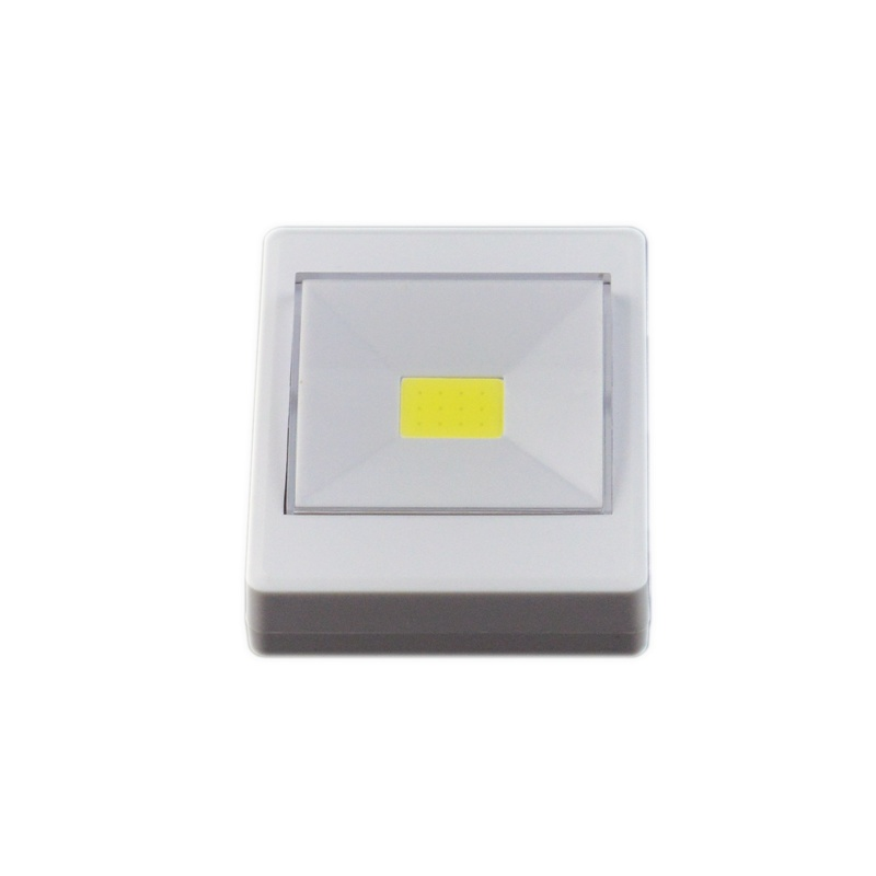800x800 3w White Led Night Light Emergency Led Light Switch Battery