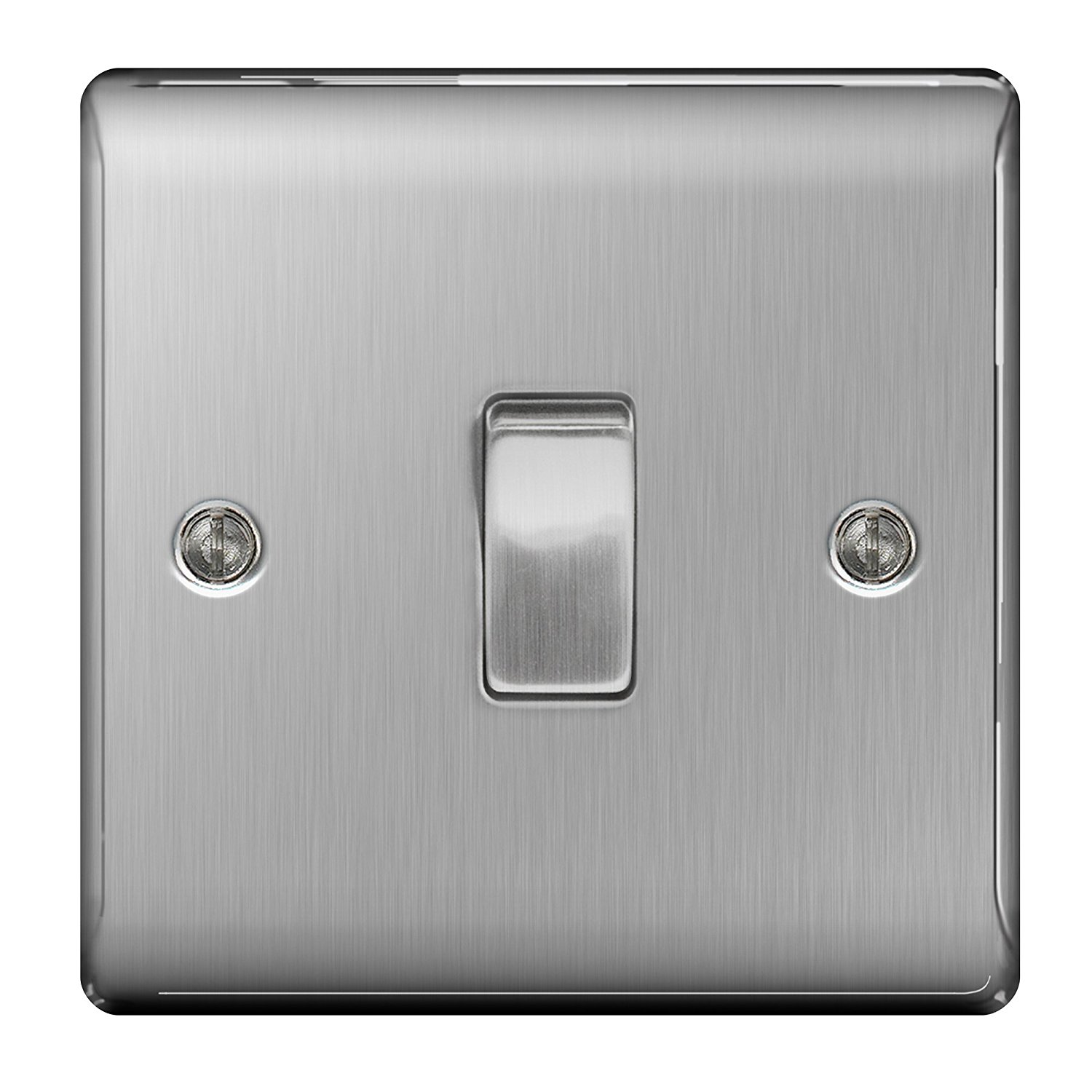 1500x1500 Masterplug Nbs12 10 A 1 Gang 2 Way Metal Brushed Steel Light