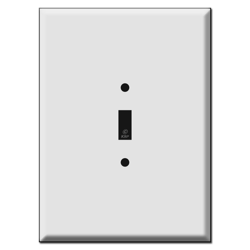 800x800 7.5 Oversized 1 Toggle Light Switch Wall Plate Covers