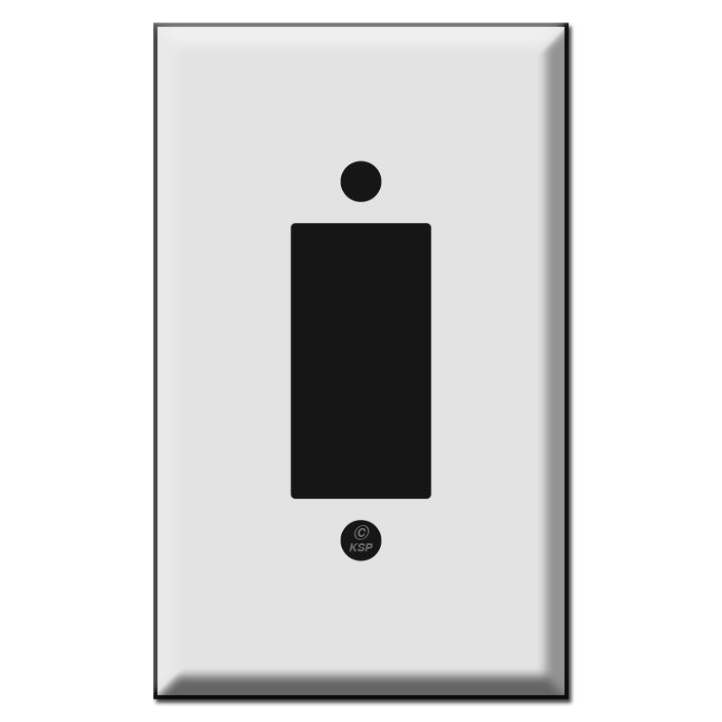 800x800 Style Replacement Leviton Centura Button Light Switch Plates