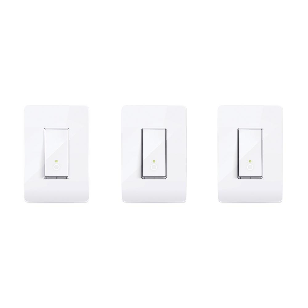 1000x1000 Tp Link Smart Wi Fi Light Switch (3 Pack) 815906026517