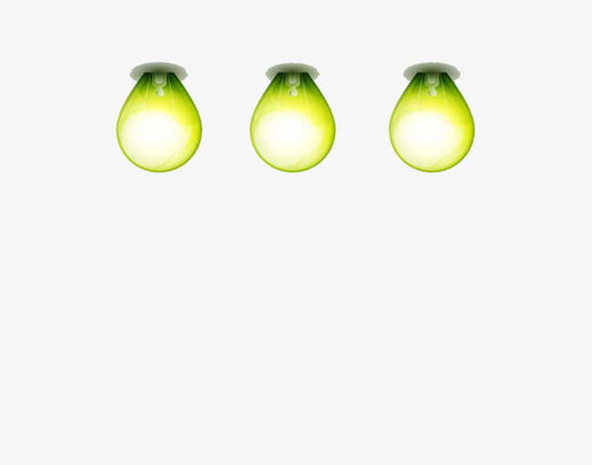 650x511 Green Lightbulb Image, Green, Light Bulb, Cartoon Png Image