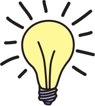 314x350 Light Bulb Clip Art Lightbulb Acoloring Wikiclipart 3