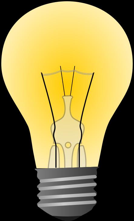 442x728 Light Bulb Free To Use Clip Art