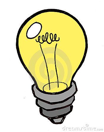 353x450 Bright Idea Light Bulb Clipart