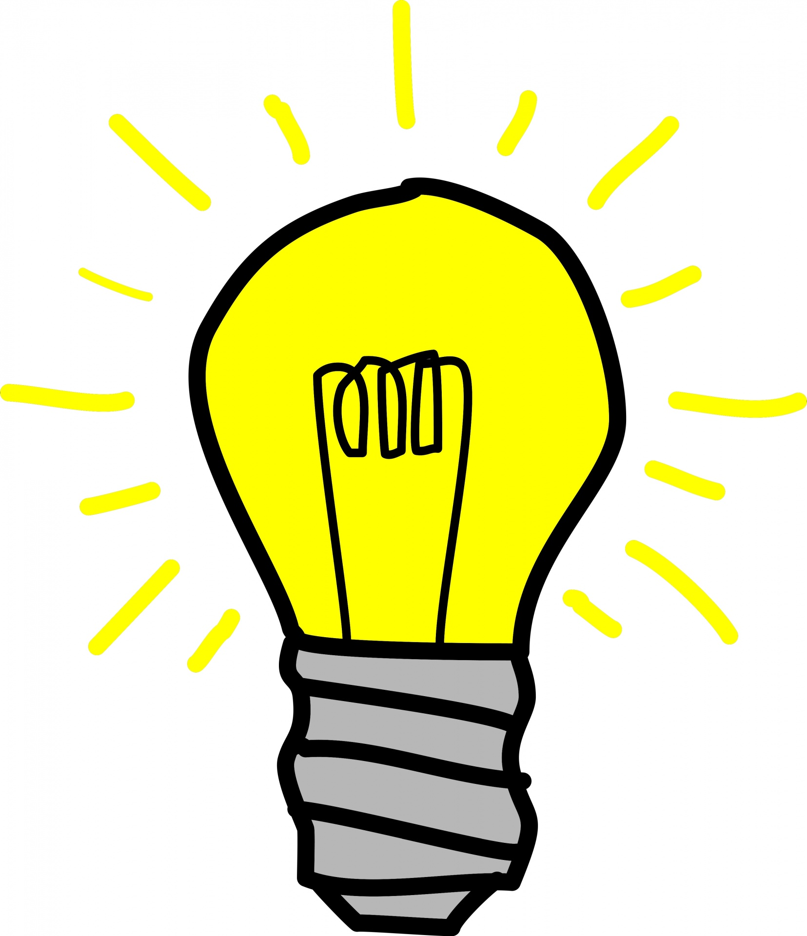 1655x1920 Bulb Clipart Inspiration