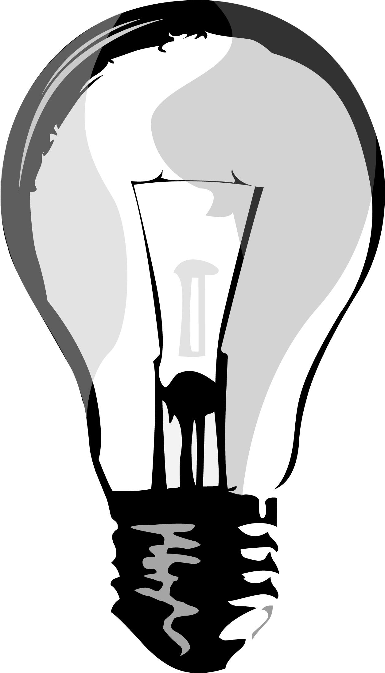 1254x2192 Light Bulb Drawing