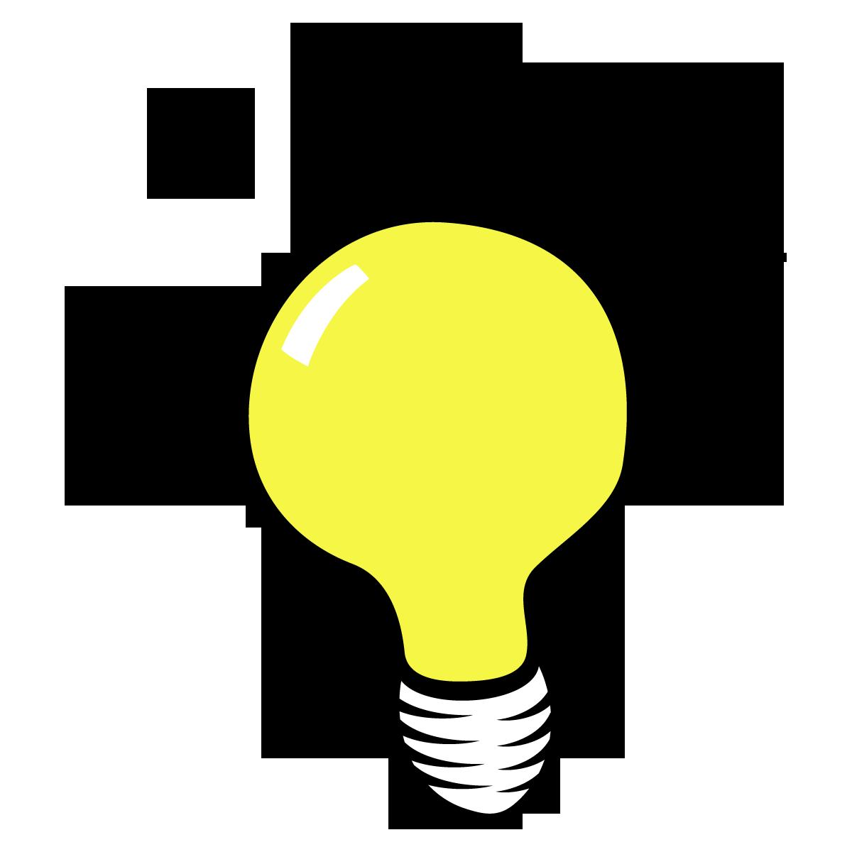 1200x1200 Light Bulb Idea Clipart