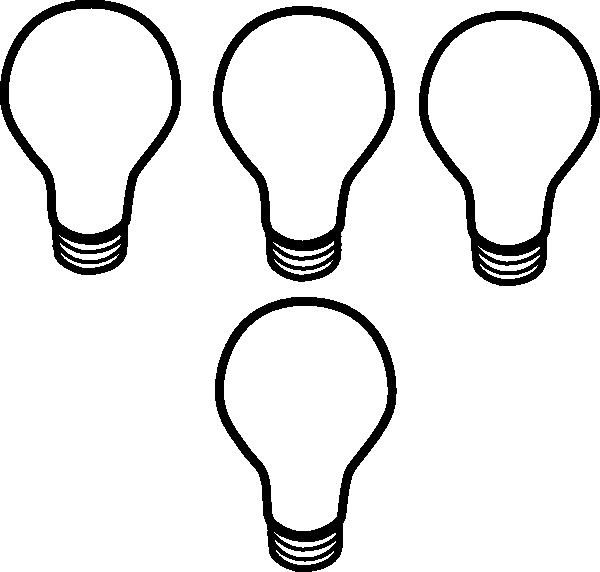 600x572 Light Bulb Clipart Small