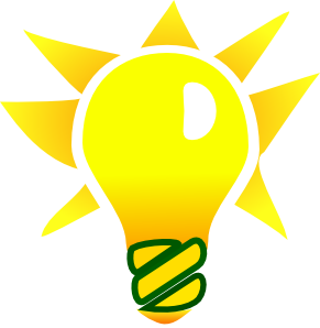 291x298 Light Bulb Clipart Black And White Free Clipart Clipartbold
