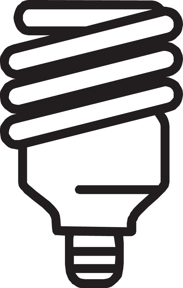 600x946 Cfl Light Bulb