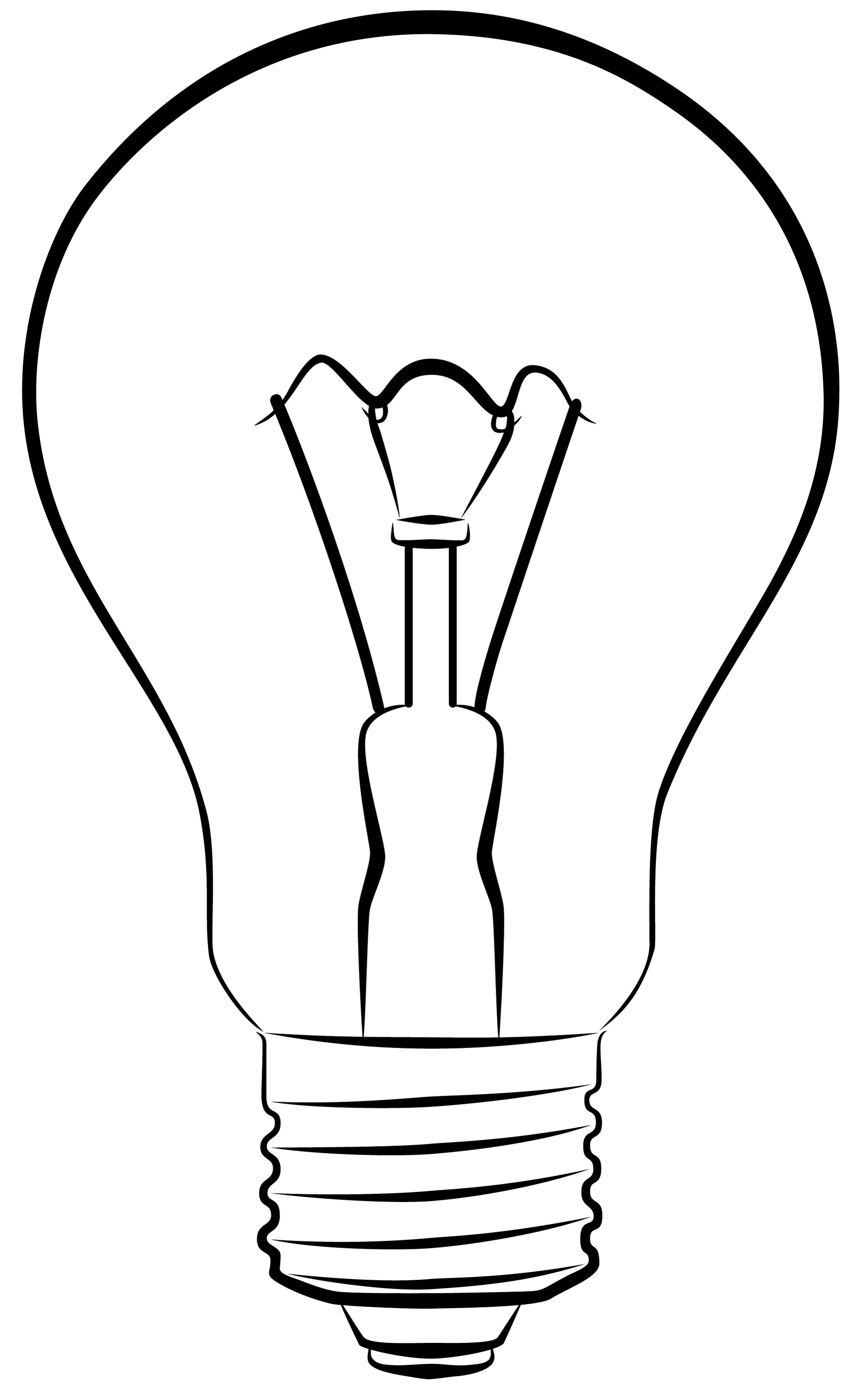 1900x3040 Drawn Light Bulb Graphic