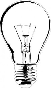 180x308 Lightbulb On Off, Vector Files