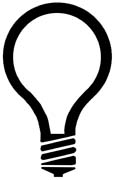 115x180 Light Bulb Outline Clipart Panda