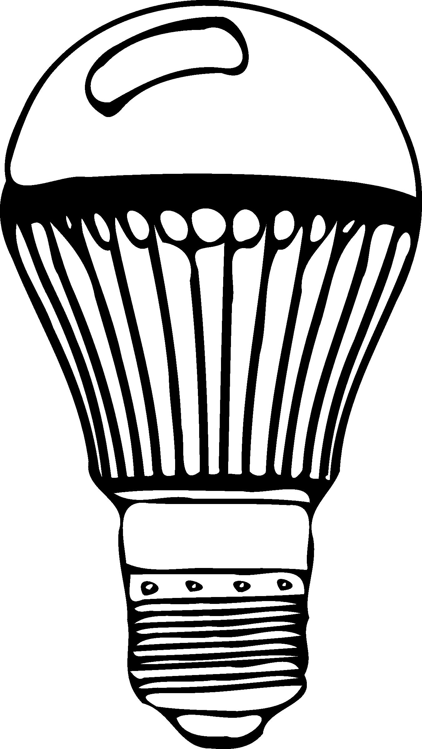 1352x2400 Cfl Light Bulb Clipart