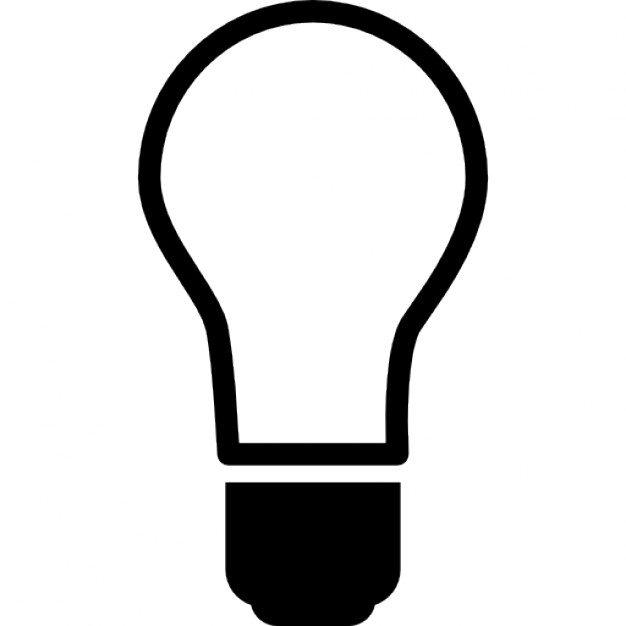 626x626 Light Bulb Off Icons Free Download