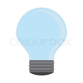 320x320 Business Ideas Concept. Hand Holding Light Bulb And Bubble Speech