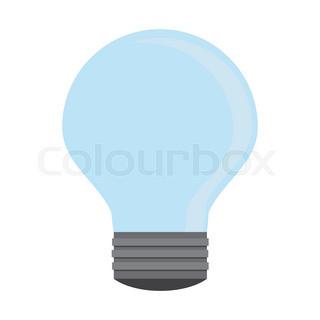 320x320 Business Ideas Concept. Hand Holding Light Bulb And Bubble Speech