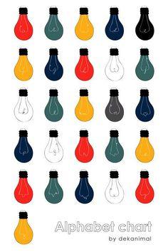 236x354 Light Bulb Pattern Light Bulb, Patterns And Bulbs