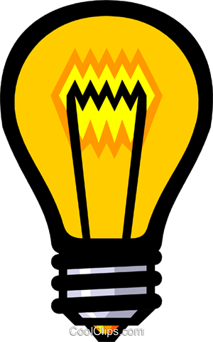 300x480 Symbol Of A Light Bulb Royalty Free Vector Clip Art Illustration