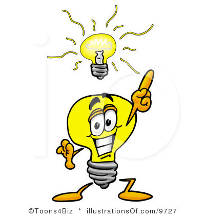 400x420 Light Bulb Clip Art Royalty Free Light Bulb Clipart Illustration