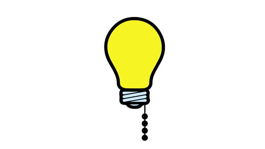 852x480 Bulb Clipart Flashing Light
