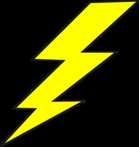 282x298 Lightning Bolt Clip Art