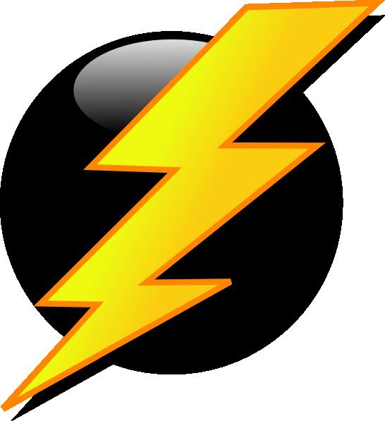 546x597 Lightning Bolt Clip Art