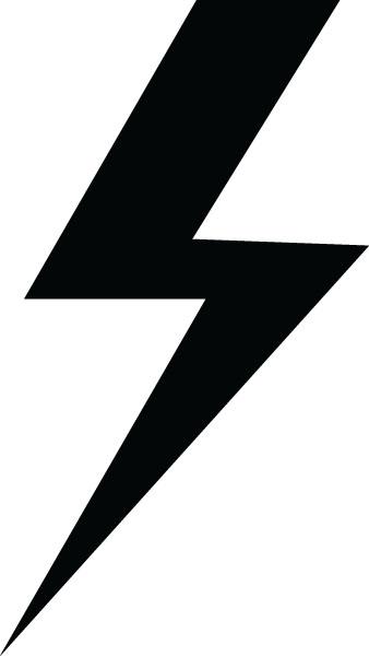338x600 Lightning Bolt Transparent Clipart