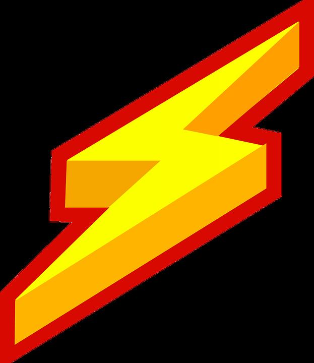 623x720 Lightning Clipart Horizontal