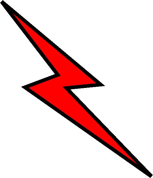 510x595 Red Lightning Bolt Clipart