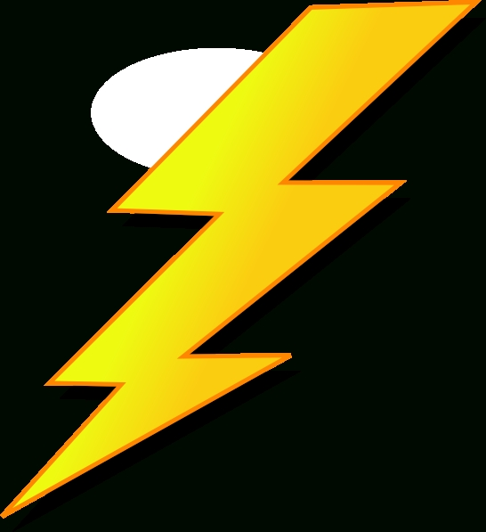 546x597 Lightning Bolt Electric Bolt Clip Art 3 Clipartcow 4