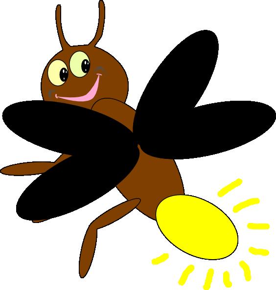 564x593 Lightning Bug Clipart