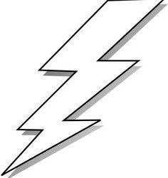236x250 Free Lightning Bolt Stencil Lightening Clip Art Templates