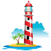 170x170 Lighthouse Clip Art