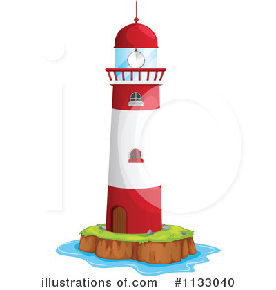 400x420 Lighthouse Clipart