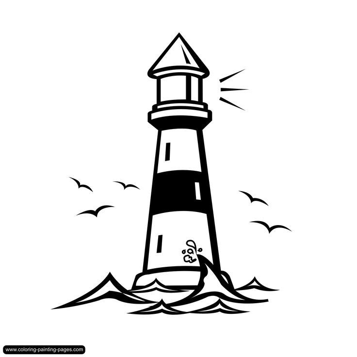 736x736 Lighthouse Clipart Bible