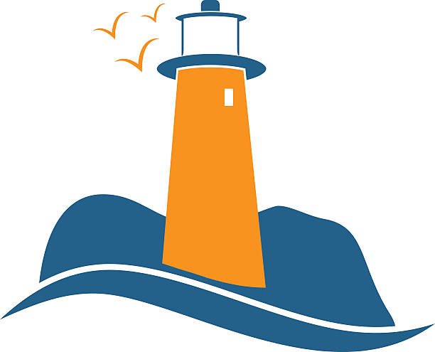 612x495 Lighthouse Clipart Illustration
