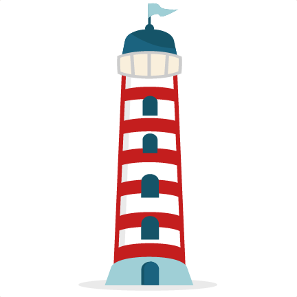 432x432 Red Lighthouse Clipart