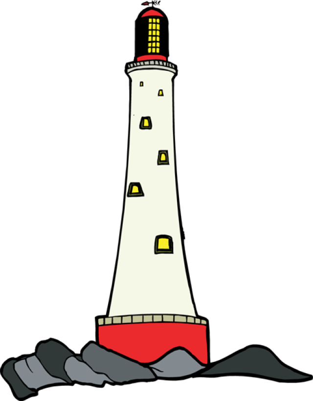 640x820 Free Lighthouse Clipart Image