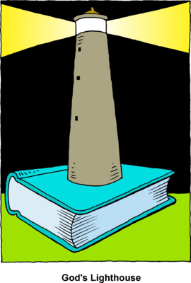 270x400 Image Lighthouse Built On Top Of Bible Bible Clip Art