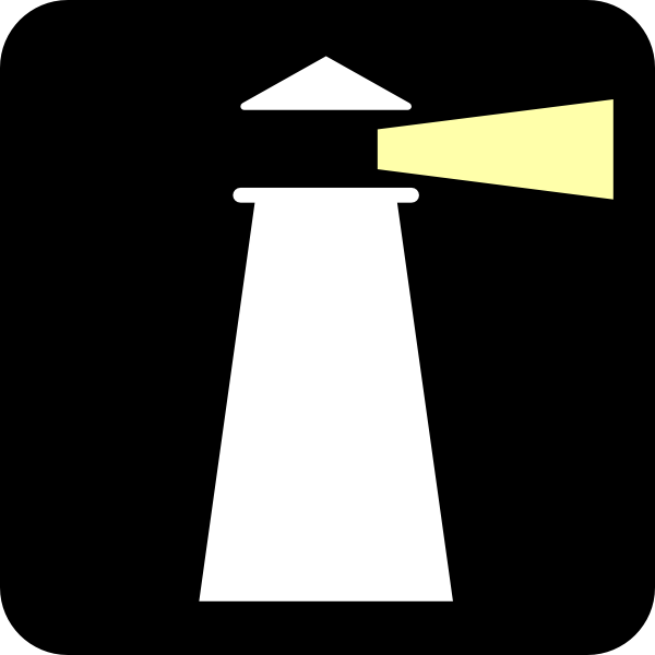 600x600 Free Lighthouse Cliparts