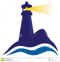 236x243 Lighthouse Illustration Classic Lighthouse Illustration. Royalty