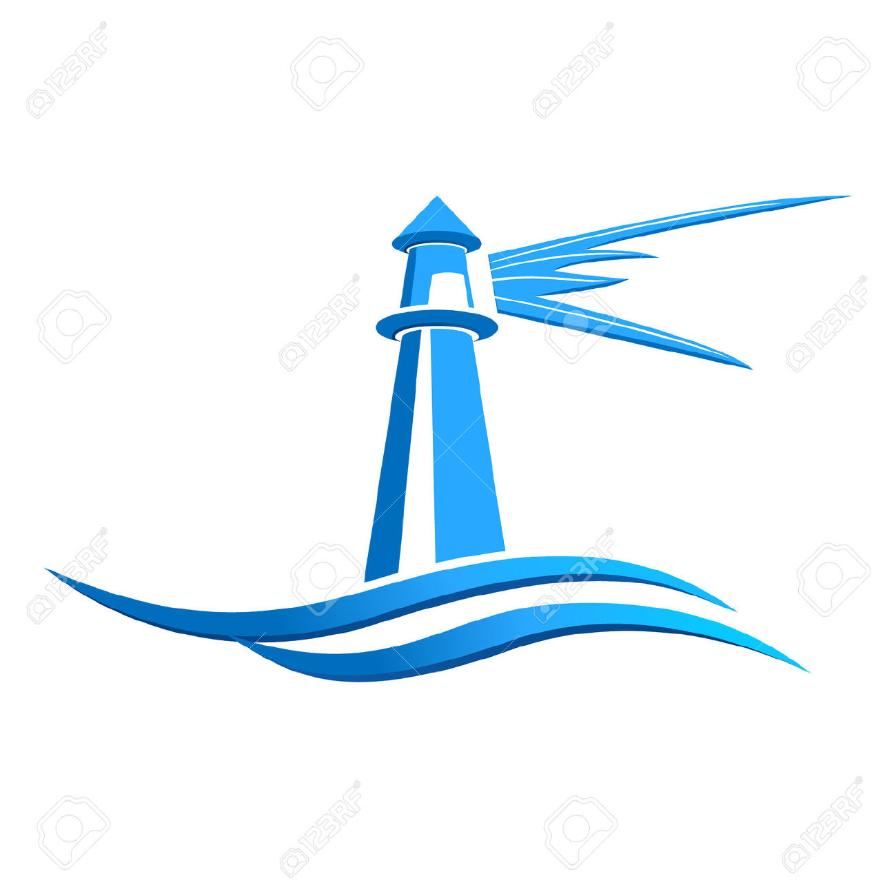 1300x1300 Lighthouse Clipart Icon