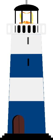 228x592 Lighthouse Clipart Nautical