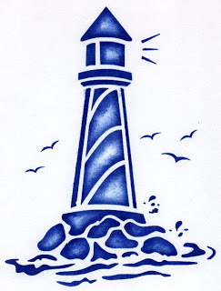 243x320 Free Lighthouse Stencil Lighthouse Amp Nautical